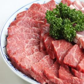 国産牛豚 焼肉用セット 合計1000g 入(約7人前)