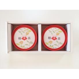 椿茶 ティーバッグ 丸筒2個セット