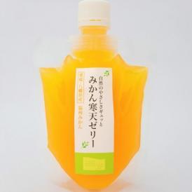 愛媛産 みかん寒天ゼリー 170g×1本