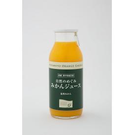 自然のめぐみ みかんジュース 小瓶180ml×1本