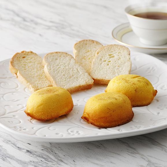木頭柚子レモンケーキとラスクの木箱セット オリジナル熨斗付き01