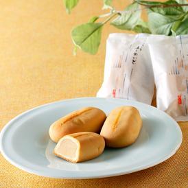 とろける口溶けの秘密は、ミルク、卵、バターと白あんの黄金比率。兵庫県、西宮の銘菓です。