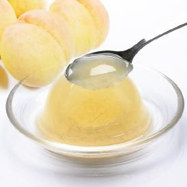 岡山県産清水白桃をふんだんに使用した、とろけるような濃質のジュレ