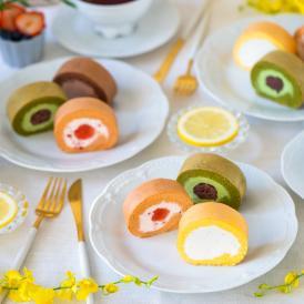 笑顔が溢れるパーティーを彩る 小さなロールケーキたち
