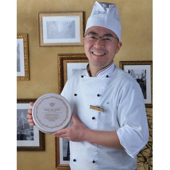 仲川広が手掛ける「王様のチーズケーキ」 フィレンツェの名店La GIOSTRAで料理長を務めたシェフが贈る至極の一品。05