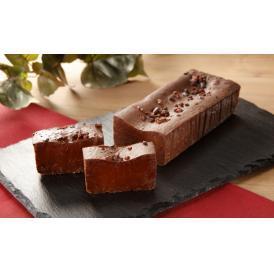 冷やして生チョコレートの感覚で、常温でテリーヌショコラでお楽しみ頂けます。