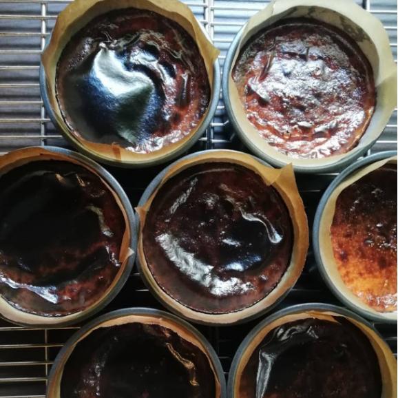 《1日5個限定》レストランSincere シンシアのバスクチーズケーキ04