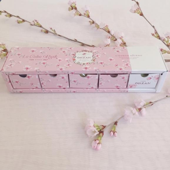 【春限定】キューブラスク5個入 saison des fleurs04