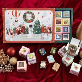 【11/6発売】クリスマスカレンダー キューブラスク24個入