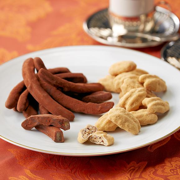 オレンジピールチョコレート+ピーカンナッツチョコレート(キャラメル)/アンダンテ(M)BOX01