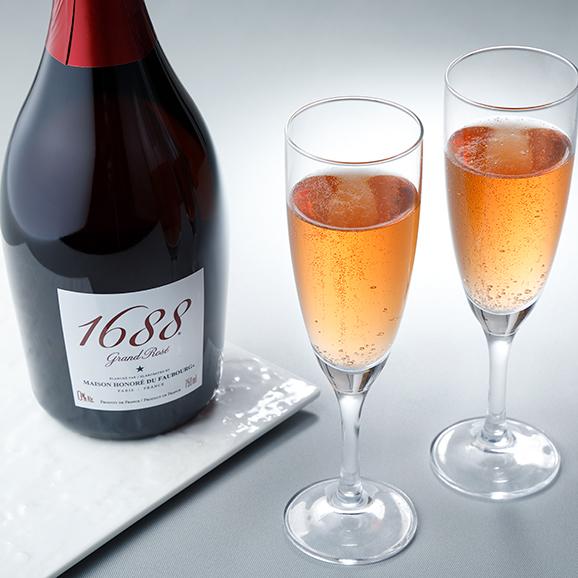 "1688 Grand Rosé ""ノンアルコール""01"