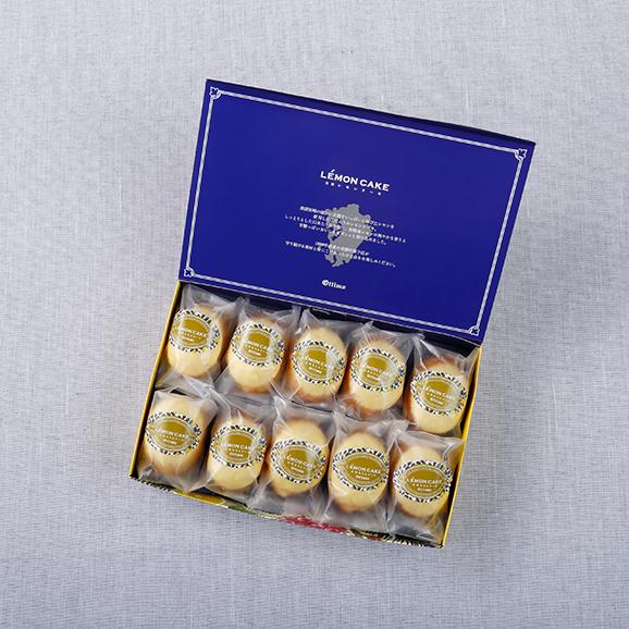 宮崎れもんケーキBOX 10個入り04