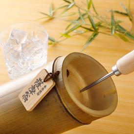 鹿児島竹焼酎「薩摩翁」一升1800ml 木箱内布付