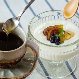 朝食セット(ヨーグルトとコーヒー)はちみつDAYS