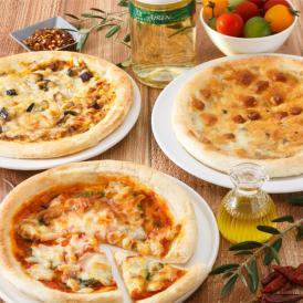 リストランテマッサが監修した贅沢なピッツァ。