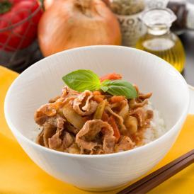 リストランテホンダ 本多哲也監修 国産牛と完熟トマトのイタリアン牛丼(5食入り)
