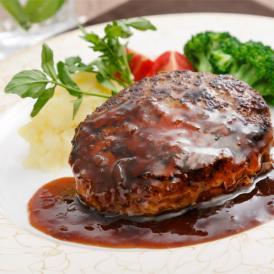 ラ・ベットラ・ダ・オチアイ 落合務監修 牛肉100%のハンバーグと黒トリュフソース(6個入り)