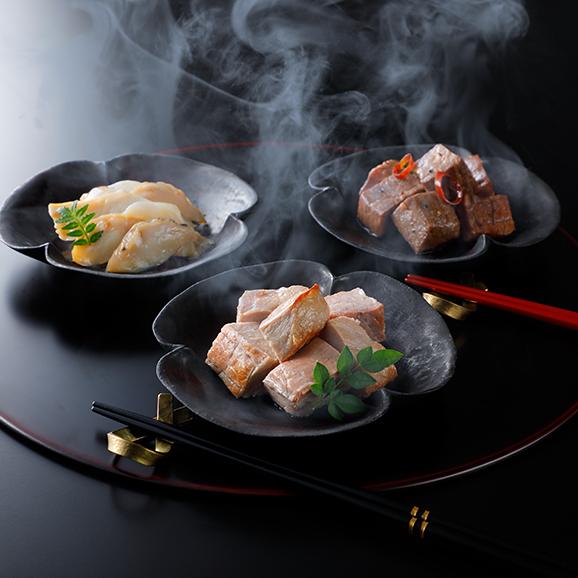 燻製詰め合わせ(梅山豚・山形尾花沢牛・鮑)01