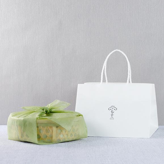 竹かご入り 果子ケーキ6個 詰め合わせ02