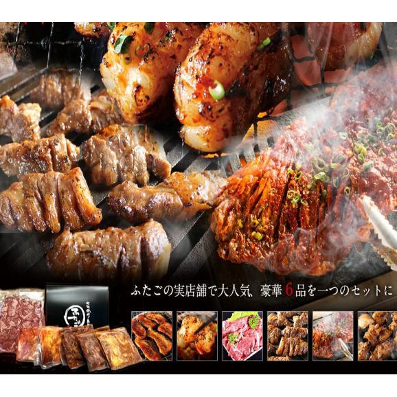 【送料無料】ふたごの極上焼肉福袋セット 合計1.5kg04
