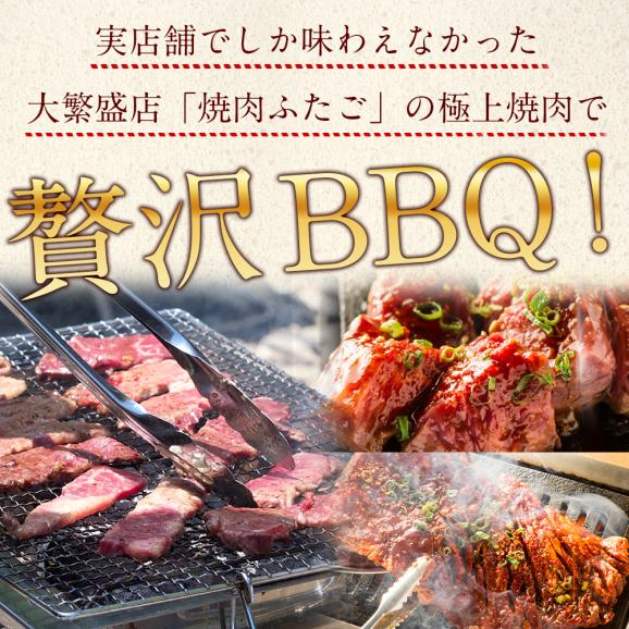 【送料無料】「ふたごの極上焼肉 元祖肉盛り福袋」全5品 合計1kg04