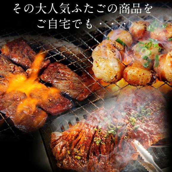【送料無料】「ふたごの極上焼肉 元祖肉盛り福袋」全5品 合計1kg05