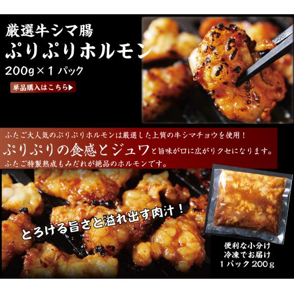 【送料無料】ふたごの極上焼肉PLUS 合計6品セット06