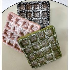 魚沼米グルテンフリーワッフル チョコワッフル3種(ショコラ・イチゴ・抹茶)18個セット