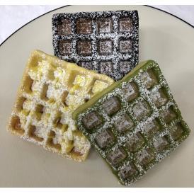 魚沼米グルテンフリーワッフル チョコワッフル3種(ショコラ・レモン・抹茶)18個セット