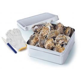 かきの缶焼き2kg(瀬戸内海産)【春のみるく牡蠣:期間限定】