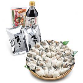 広島かき・すき焼きセット