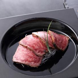 メディアで話題の加藤牛肉店 山形県産<極上>山形牛霜降りガーリックロースト 約300g