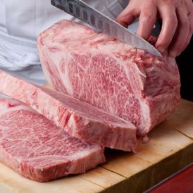 メディアで話題 加藤牛肉店の山形県産山形牛サーロインステーキ(180g)