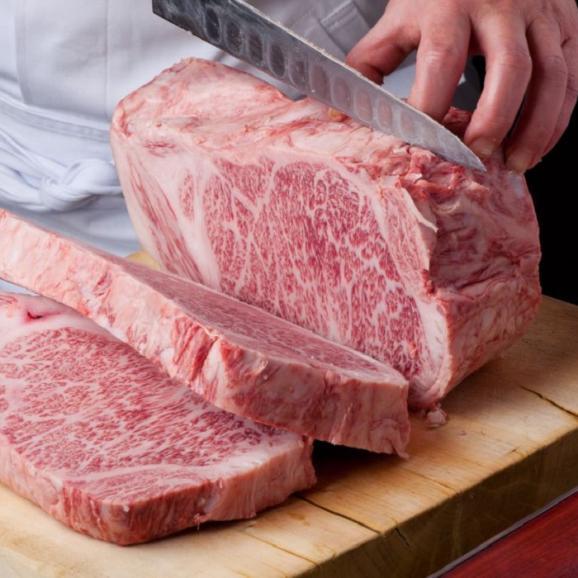 メディアで話題 加藤牛肉店の山形県産山形牛サーロインステーキ(180g)01