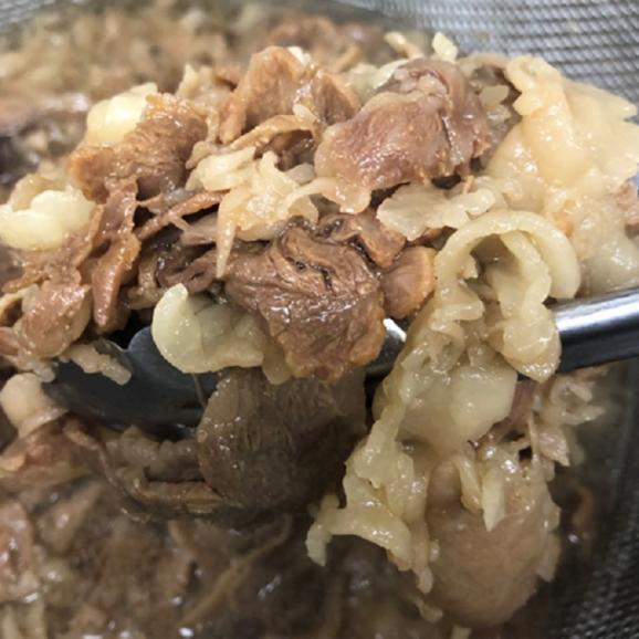 メディアで話題の加藤牛肉店のすき焼き丼の素01