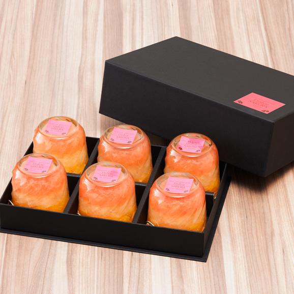 【オステリア サクラ】グレープフルーツ&オレンジゼリー 6個入り04