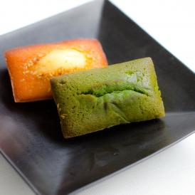 京都宇治抹茶と西京味噌、和素材を使用してしっとりと焼き上げたフィナンシェです。