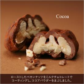 ペカンナッツショコラ 90g BOX(ココア)