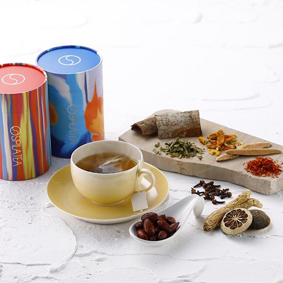 SPILA五行茶&ナッツセット01