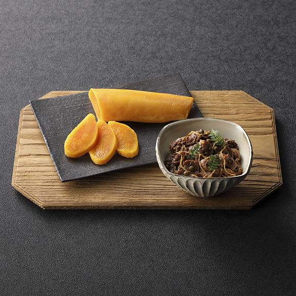 麻布淺井の自家製からすみと和牛しぐれ煮セット01