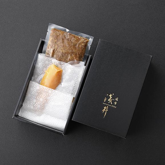 麻布淺井の自家製からすみと和牛しぐれ煮セット04