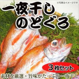 【送料無料】福井県三国名産!一夜干しのどぐろセット