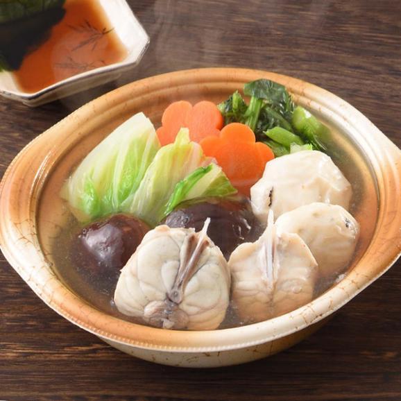 レンジで簡単 個食鍋3種セット ふぐ フグ 河豚03