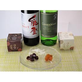 石川県能登のお土産菓子!能登ワインと横井商店の米飴のコラボレーション!赤ワイン飴3ケース、白ワイン飴3ケースの紅白ワイン米飴です。