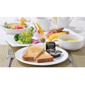 持ち運び簡単、使いやすい黒ごまペーストポーションタイプ(添加物不使用)毎朝のパンのお供に!