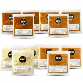 スパイスカレー3種類(冷凍)、ガンボ(冷凍) 12個セット 3 kind Curry & Gumbo