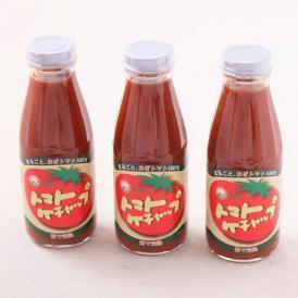 めぐみ会の手作りトマトケチャップ 3本セット