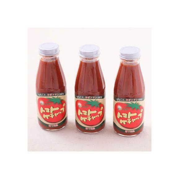 めぐみ会の手作りトマトケチャップ 3本セット01