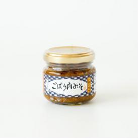砂丘ごぼうをたっぷり使用し、老舗のまるや八丁味噌など4種の厳選味噌をオリジナルにブレンド!