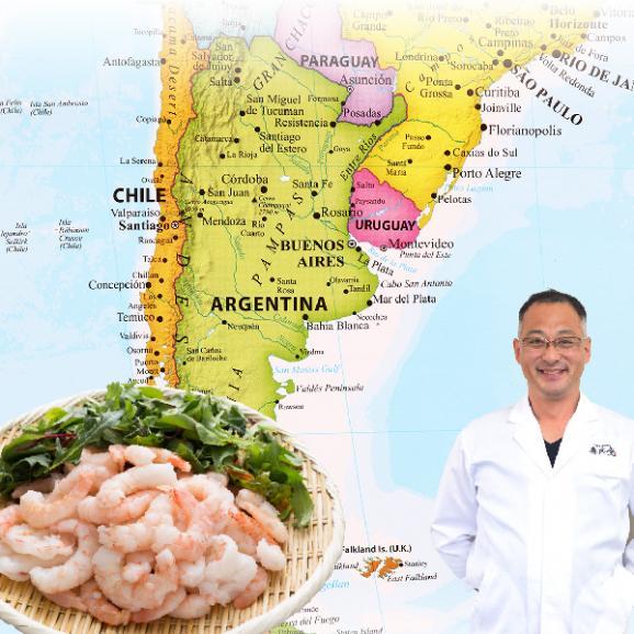【生食可】送料無料 むきエビ 生食可能!赤海老(えび)むき身1kg 2個買って寿司屋のネギトロ300gおまけ付き03